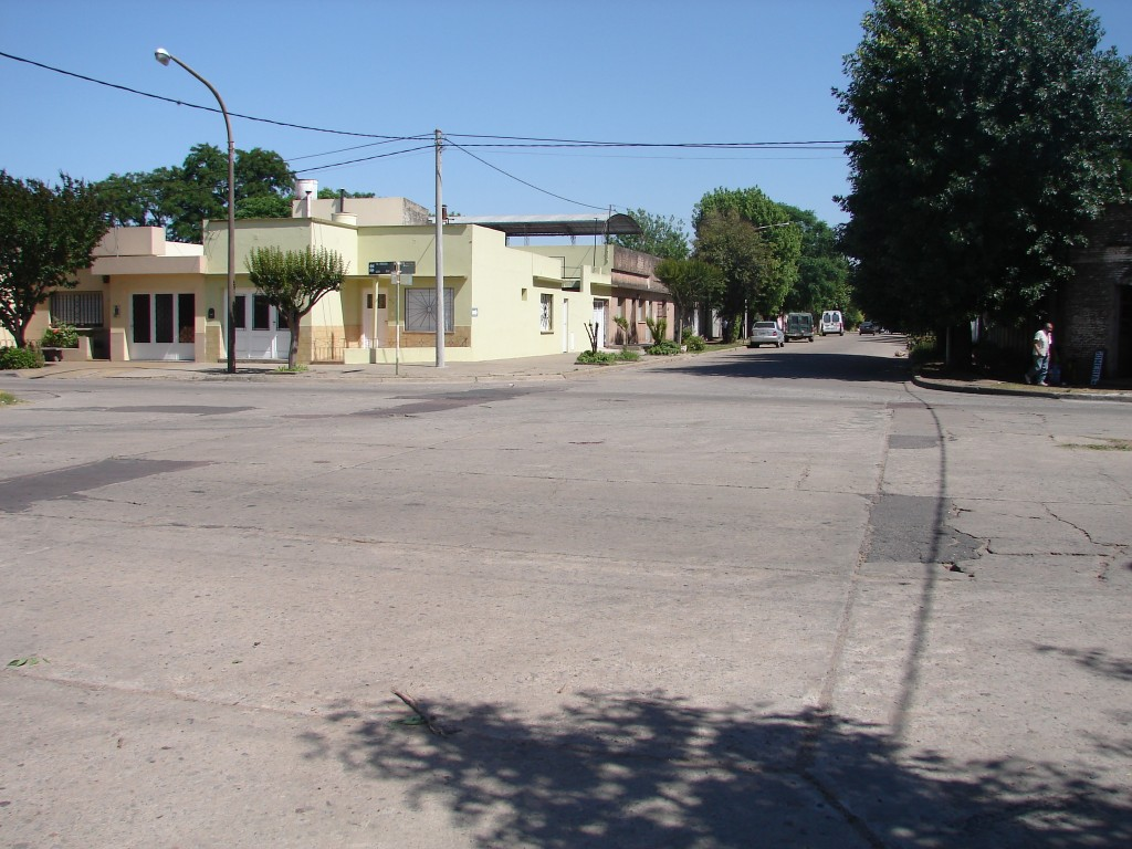 Esquina de Urquiza y Corrientes donde ocurrió el accidente.