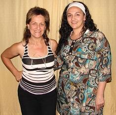 Mónica Blanco y María Rosana Salinas.