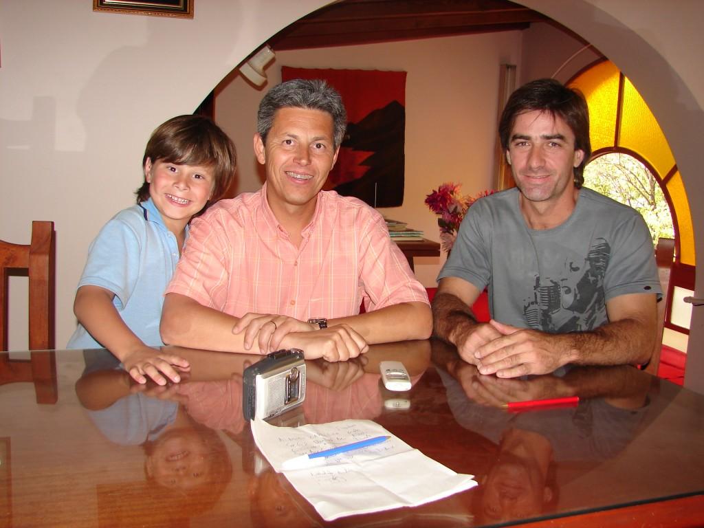 Dr. Alberto Capriroli y Guillermo Rodríguez.