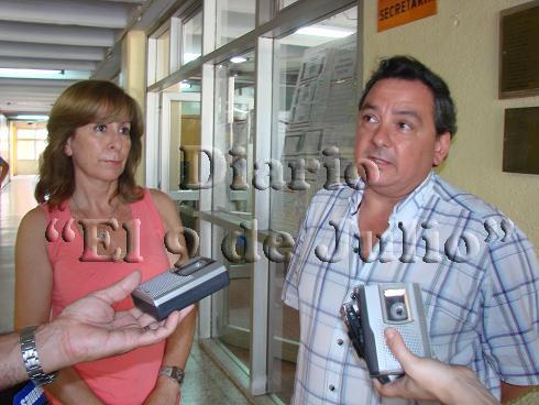 Silvia Vadillo y Sergio Cervatte.