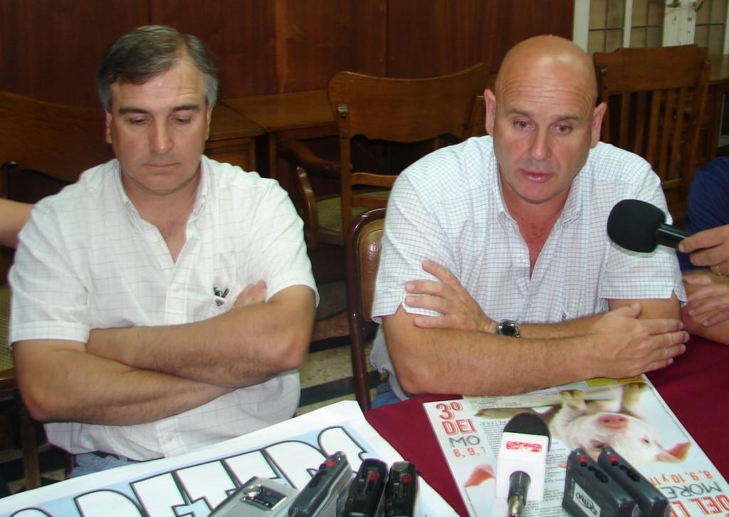 Conferencia de prensa realizada ayer anunciando la Fiesta.
