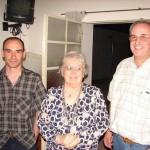 Carlos Raitzin, Susana G. de Malizia y Eduardo Bonoldi.