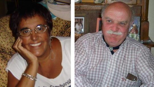 Graciela Gómez y Roberto Castro.