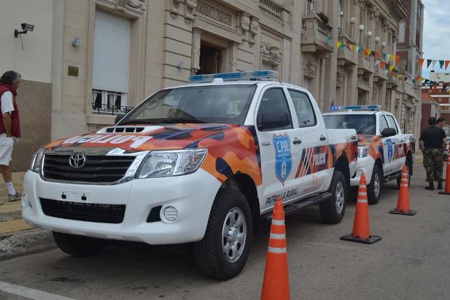 En el Municipio se presentaron móviles y maquinaria