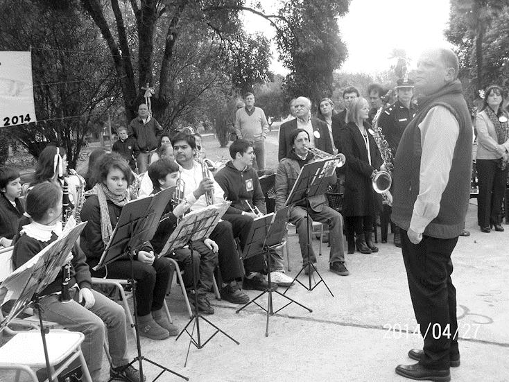 banda municipal en naon