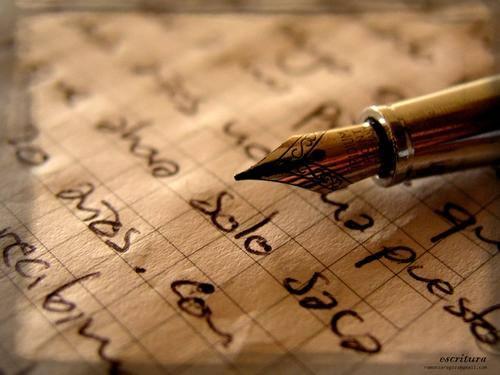 Formas de Escritura