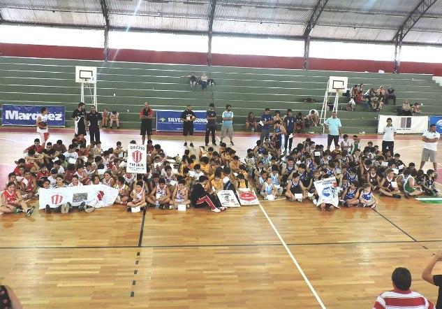 Gran jornada de Minibasquet en el Club Atlético