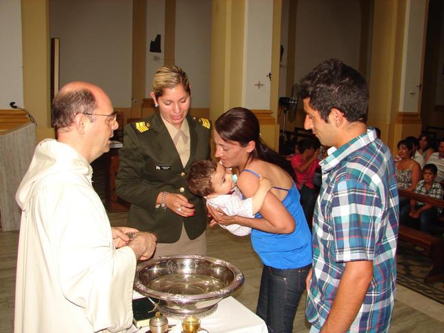 Hecho histórico: en 9 de Julio fueron bautizados los últimos ahijados de la Presidente Kirchner