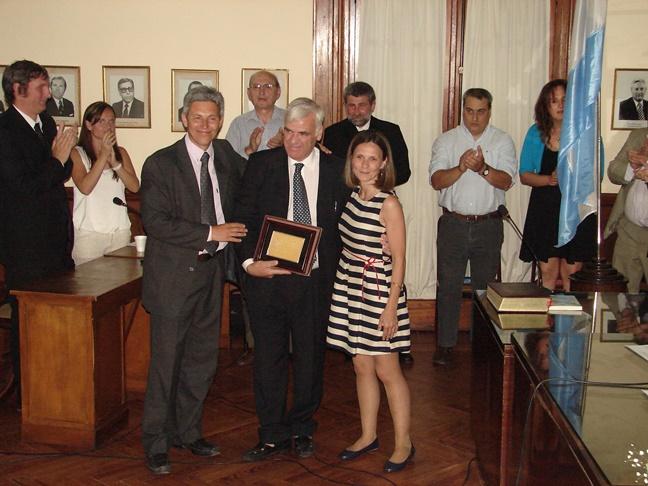 Los concejales salientes recibieron su reconocimiento