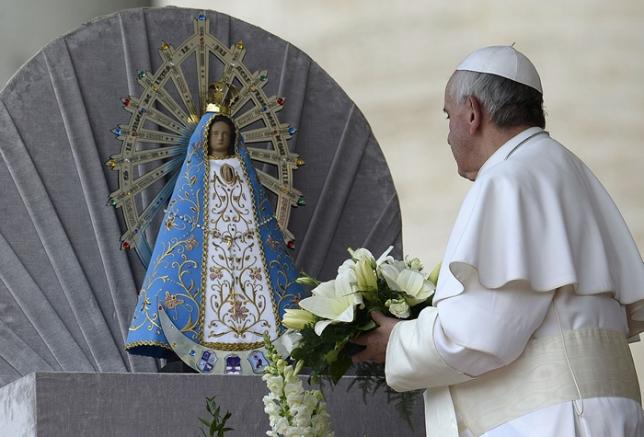 8 de diciembre, Día de la Virgen