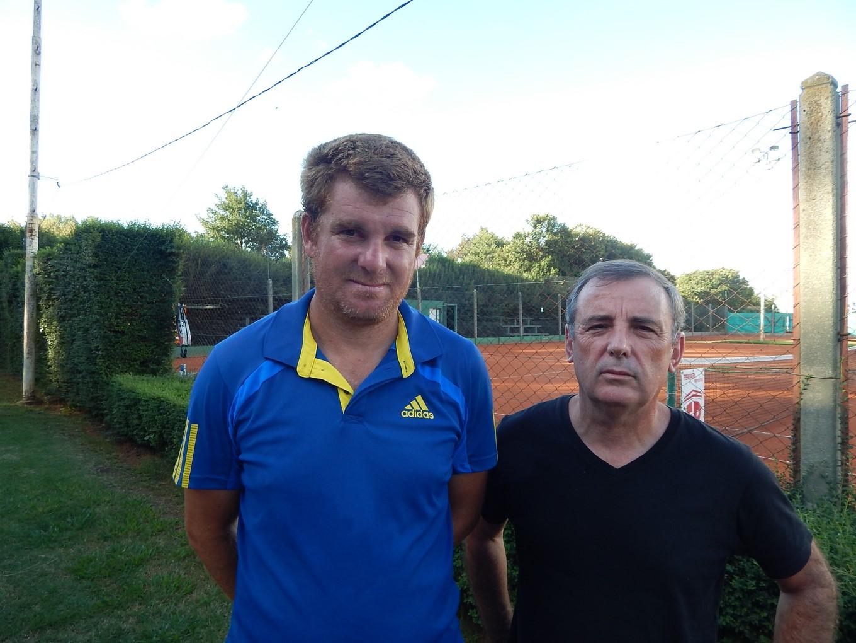 TENIS Pablo Cabrera y Cluadio Lovisolo