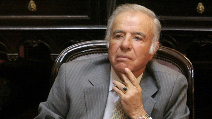 Menem no podrá ser candidato por su provincia