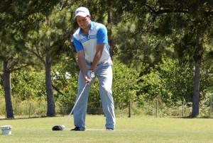 Miguel Sancholuz lidera el Campeonato del Golf Club Atletico 9 de Julio