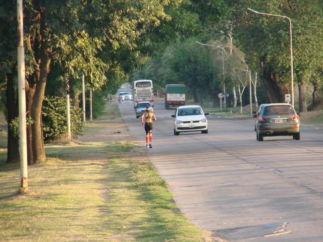 correr en el acceso
