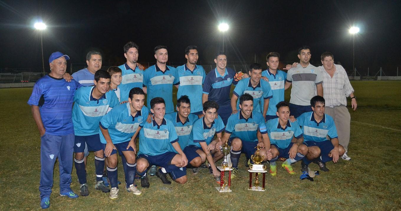 San Martin es el campeon del Cuadrangular Copa Juan Carlos Pagliana