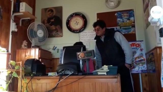 vendedor loteria