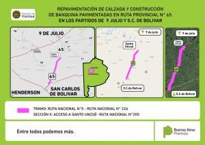 placa para licitacion RUTA 65 tramo 9 de julio - bolivar-01