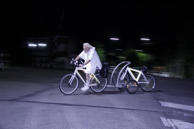 bici blanca