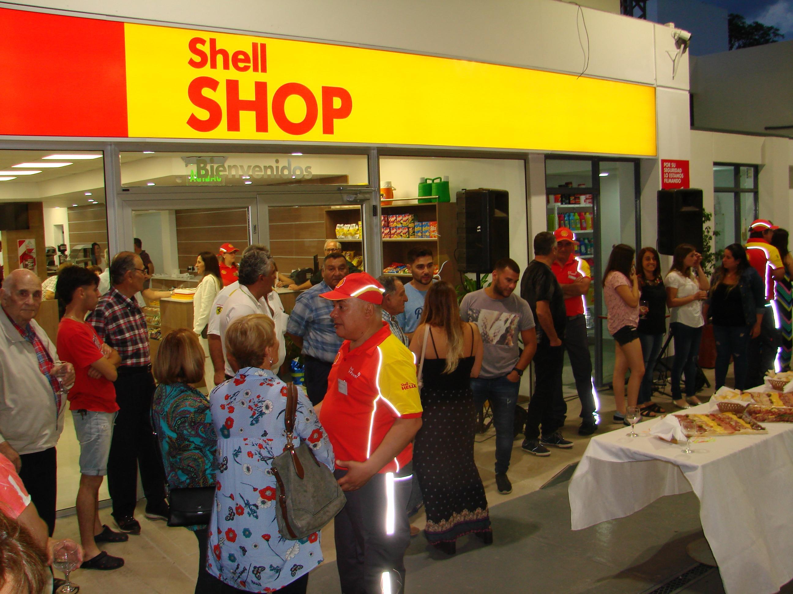 La Estación Shell de 9 de Julio  inauguró modernas instalaciones