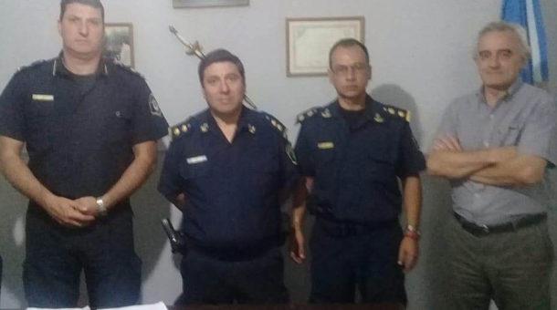 Cambio en la Sub Estación de Policía Dudignac