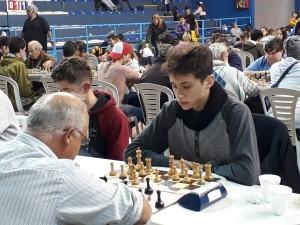 ajedrezValentin Heredia campeon en Bolivar
