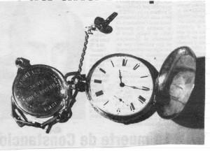 Reloj de Julio de Vedia