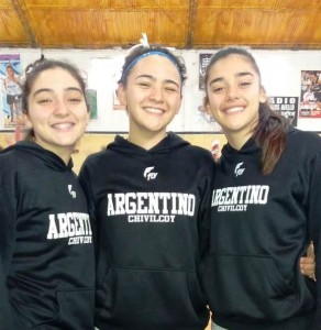 basquetPilar, Martina y Catalina