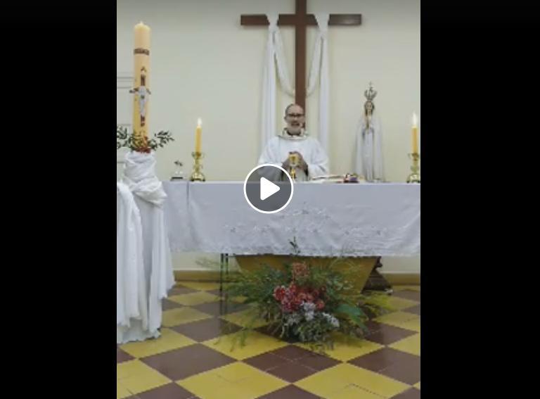 En estos momentos se transmite la misa desde la Iglesia Catedral