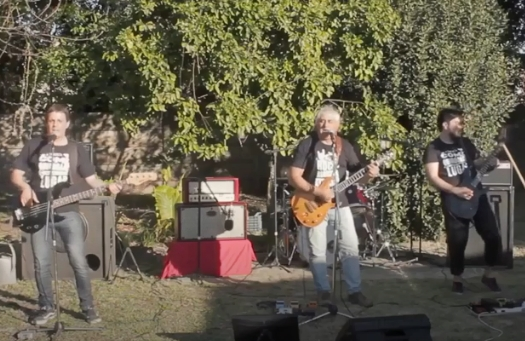 «Jaqueca» actuó en un Festival vía streaming