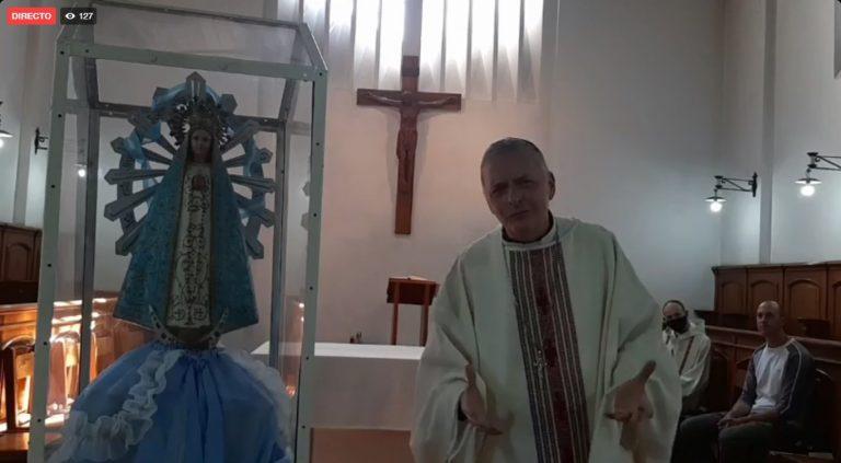 Está culminando la Peregrinación Diocesana a Los Toldos