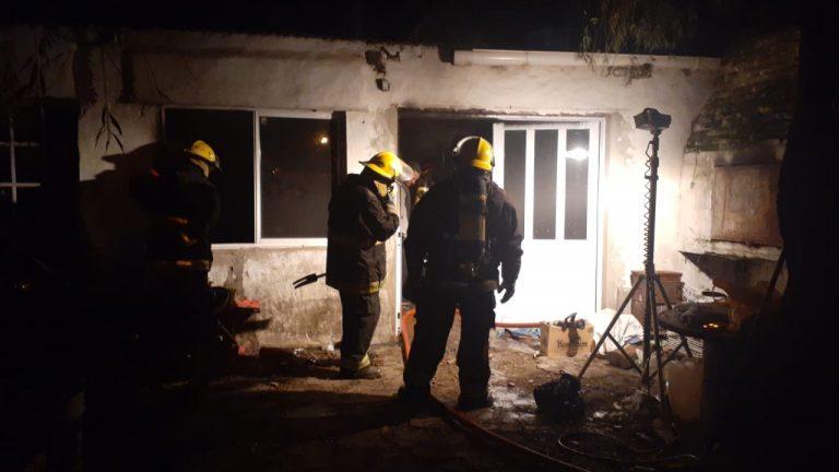 Incendios: los Bomberos respondieron a los llamados