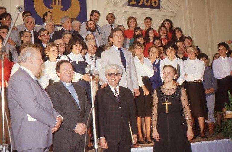 Coro Polifónico  «Ciudad de  9 de Julio»:70 años de trayectoria artística y cultural