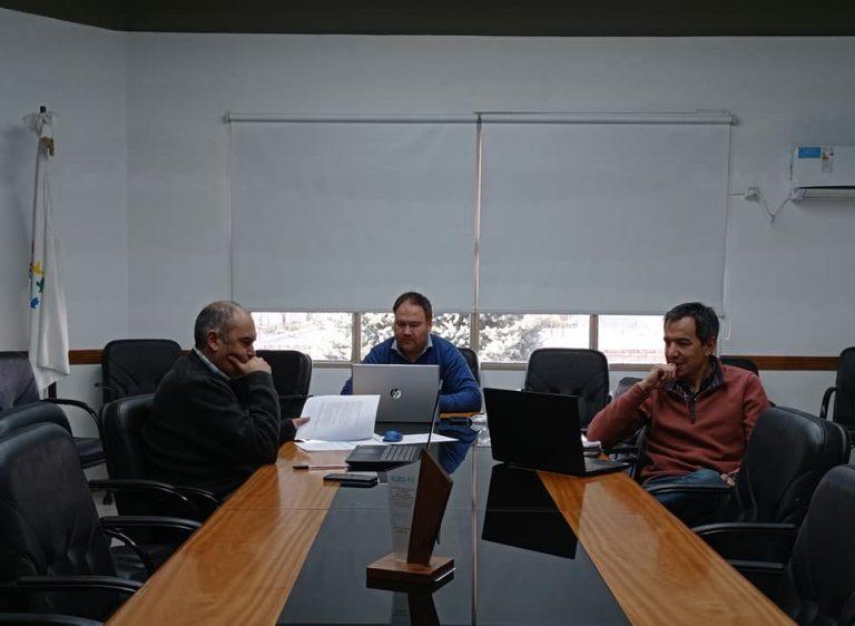 Línea de 132 KV: reunión de la CEyS con la Dirección de Energía