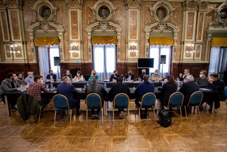 El Gobernador se reunió con intendentes de la primera sección