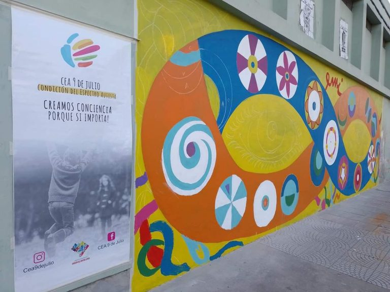 La Neurodiversidad se hace visible con el mural