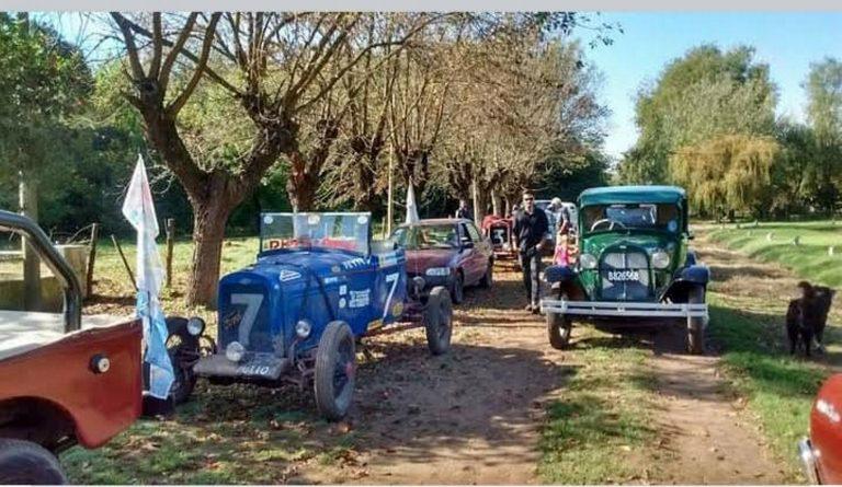 Autos clásicos recorrerán cuatro localidades