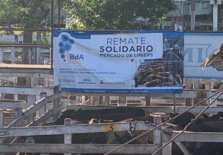 Se realizó en Liniers un Remate Solidario