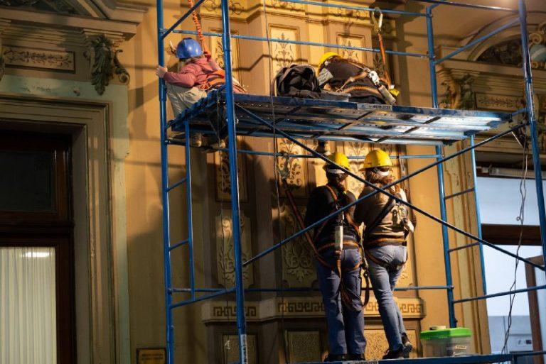 Restauran la Casa de Gobierno de la Provincia